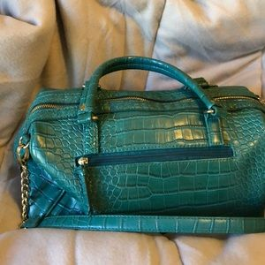 Olivia & Joy Turquoise Handbag